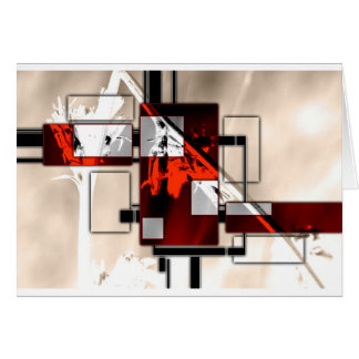 Abstract style 03 card