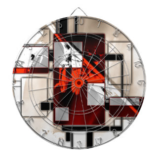 Abstract style 03 dartboard