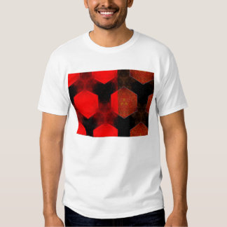 Abstract Style T-Shirt - Digital Abstract Squares