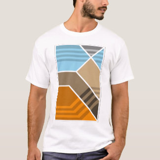 Abstract Subduction Zone Geology T-Shirt