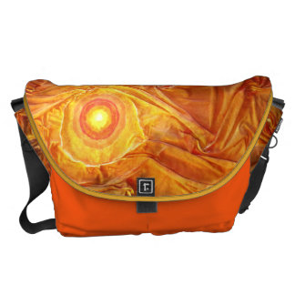 Abstract Sun Courier Bag