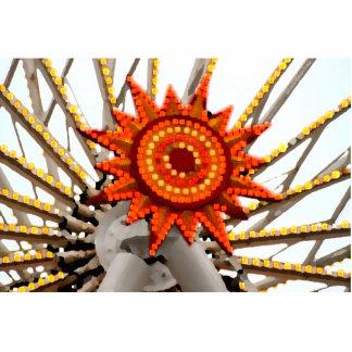 abstract sunburst image photo cutouts