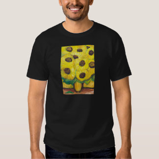 Abstract Sunflowers in the vase T Shirts