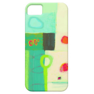 Abstract sunrise and cold spring morning iPhone 5 cover