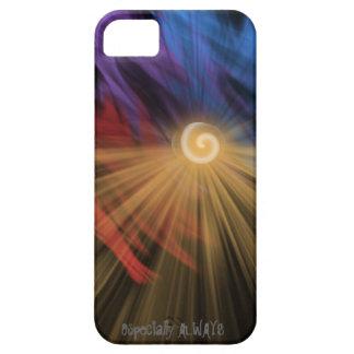 Abstract sunrise/sunset designer phone case