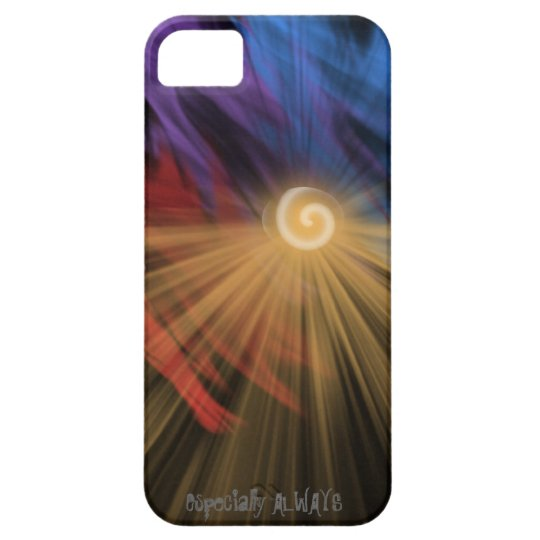 Abstract sunrise/sunset designer phone case