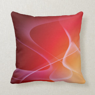 Abstract Sunset American MoJo Pillow Throw Cushions