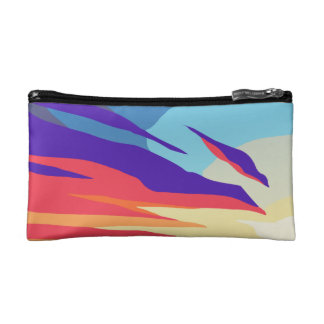 Abstract Sunset Cosmetic Bag