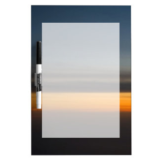 Abstract Sunset in the Sky Dry Erase Board