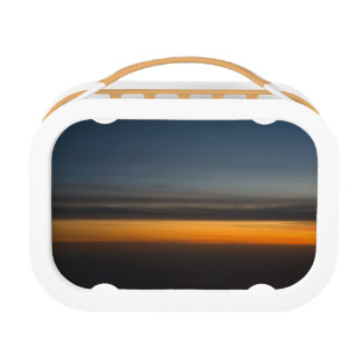 Abstract Sunset in the Sky Lunch Box