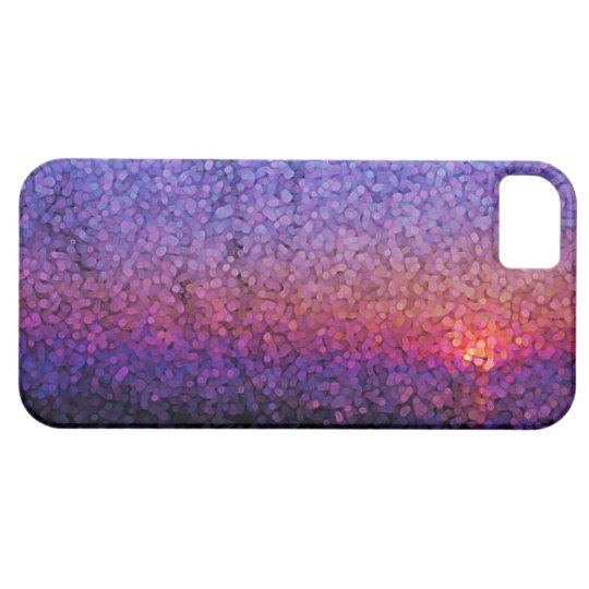 Abstract sunset pattern iPhone5 cases