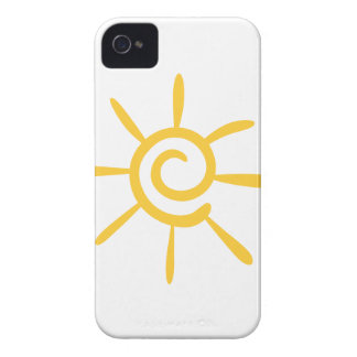 Abstract Sunshine iPhone 4 Case-Mate Cases