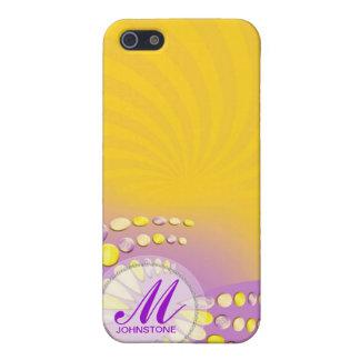 Abstract Sunshine Swirl iPhone 4 Case
