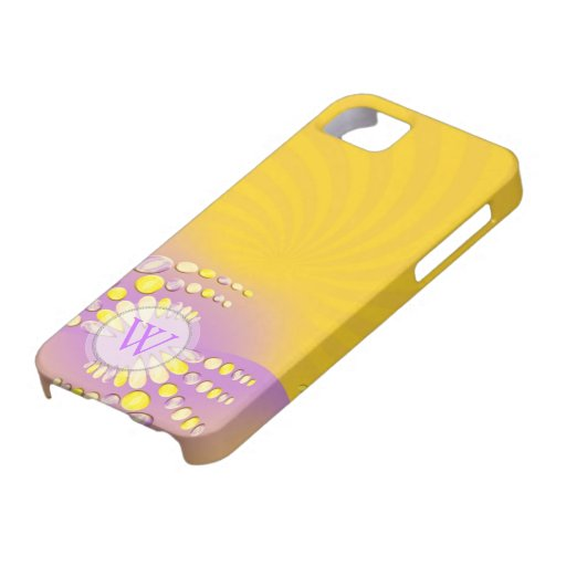 Abstract Sunshine Swirl iPhone Case-Mate iPhone 5 Case