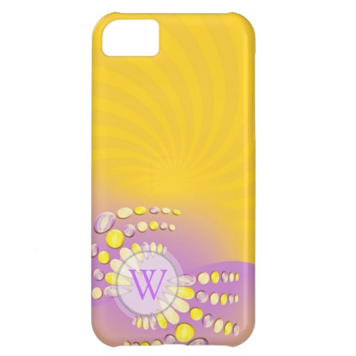 Abstract Sunshine Swirl iPhone Case-Mate Cover For iPhone 5C