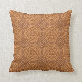 Abstract sunshine yellow & orange pattern pillow throw cushions