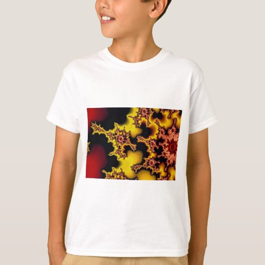 Abstract Sunspot fractal T-Shirt
