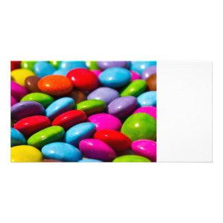 Abstract sweet art card