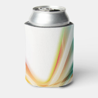 Abstract Swirl 2 Can Cooler