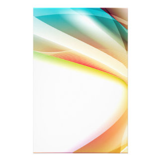 Abstract Swirl 2 Customized Stationery