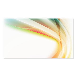 Abstract Swirl 2 Pack Of Standard Business Cards
