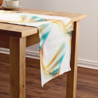 Abstract Swirl 2 Short Table Runner