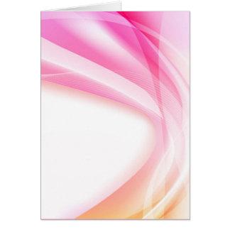 Abstract Swirl 4 (portrait) Card