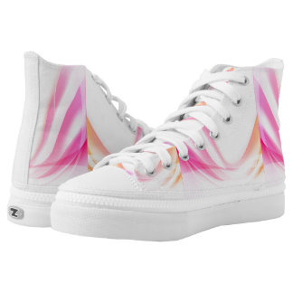 Abstract Swirl 4 Printed Shoes