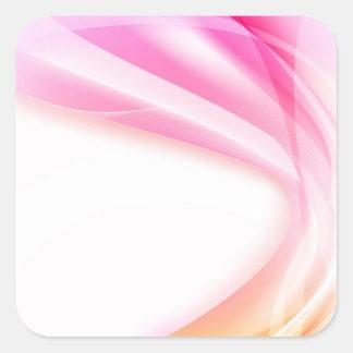 Abstract Swirl 4 Square Sticker
