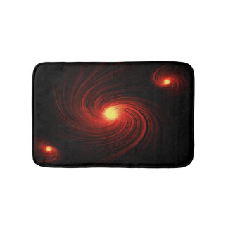 Abstract swirl. bath mat