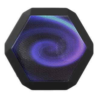Abstract swirl. black bluetooth speaker