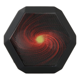 Abstract swirl. black bluetooth speaker