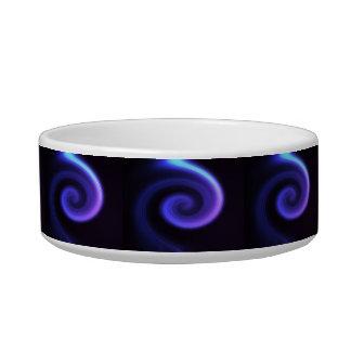 Abstract swirl. bowl