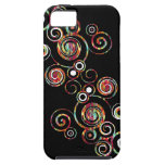 Abstract Swirl Case For The iPhone 5
