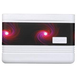 Abstract swirl. igloo cool box