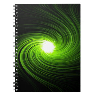Abstract swirl. notebook