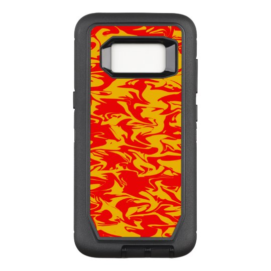 Abstract Swirl OtterBox Defender Samsung Galaxy S8 Case