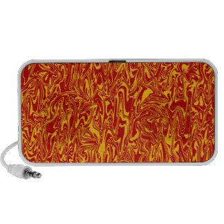 Abstract Swirl Notebook Speaker