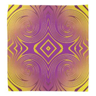 Abstract swirl texture bandana
