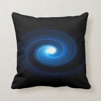 Abstract swirl. throw pillow