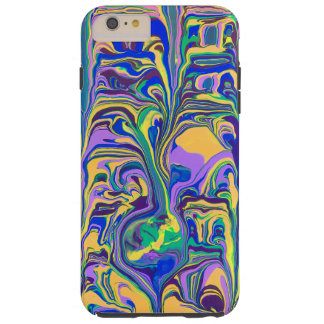 Abstract Swirl Tough iPhone 6 Plus Case