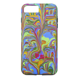 Abstract Swirl Tough iPhone 7 Plus Case