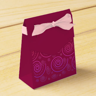 Abstract Swirls Favour Box