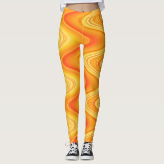 Abstract Swirls Leggings