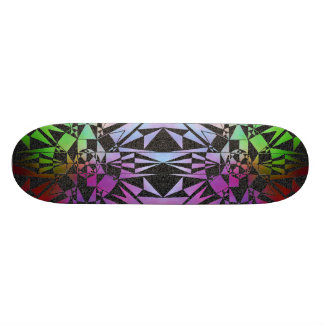 'Abstract Symmetry' Skateboard