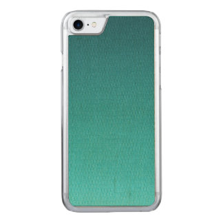 Abstract Teal Gradient Pattern Carved iPhone 8/7 Case
