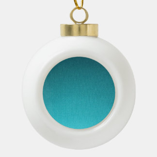 Abstract Teal Gradient Pattern Ornaments