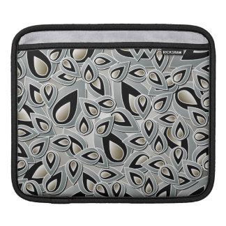 Abstract Teardrop Leaf iPad Sleeve
