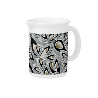 Abstract Teardrop Leaf Pitcher