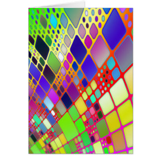 Abstract Technology Note Card